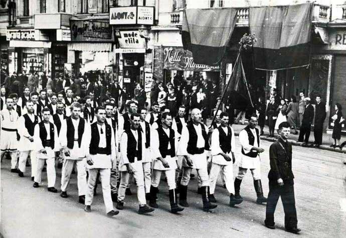 Румынские фашисты в 1930 г