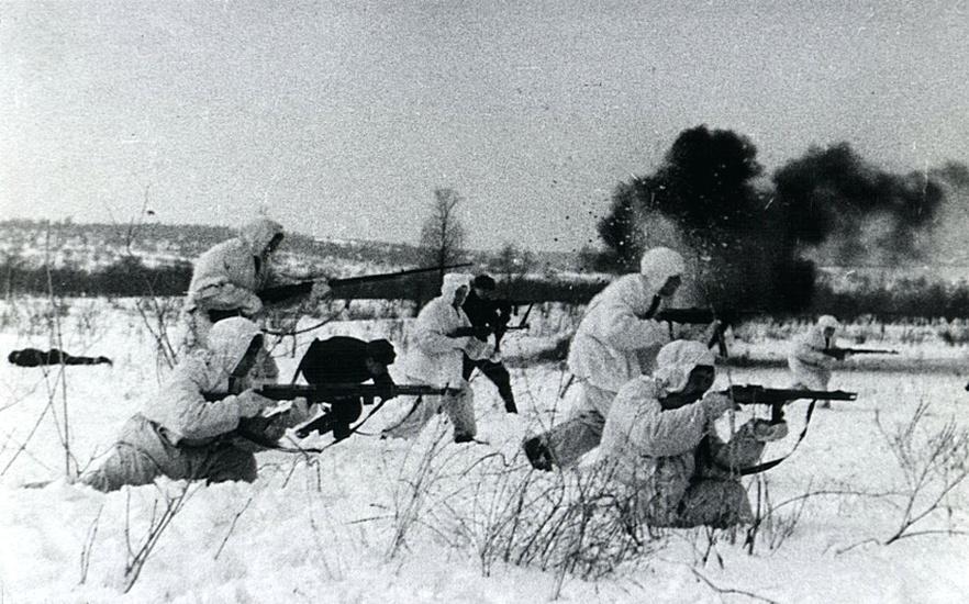 Автоматчики СССР под Сталинградом