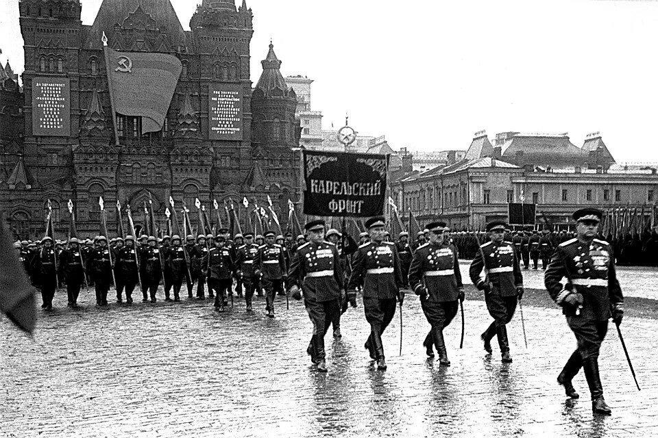 Парад в 1945 году