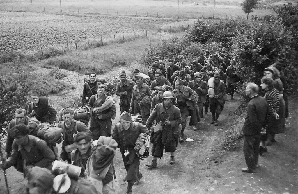 Французские солдаты в плену