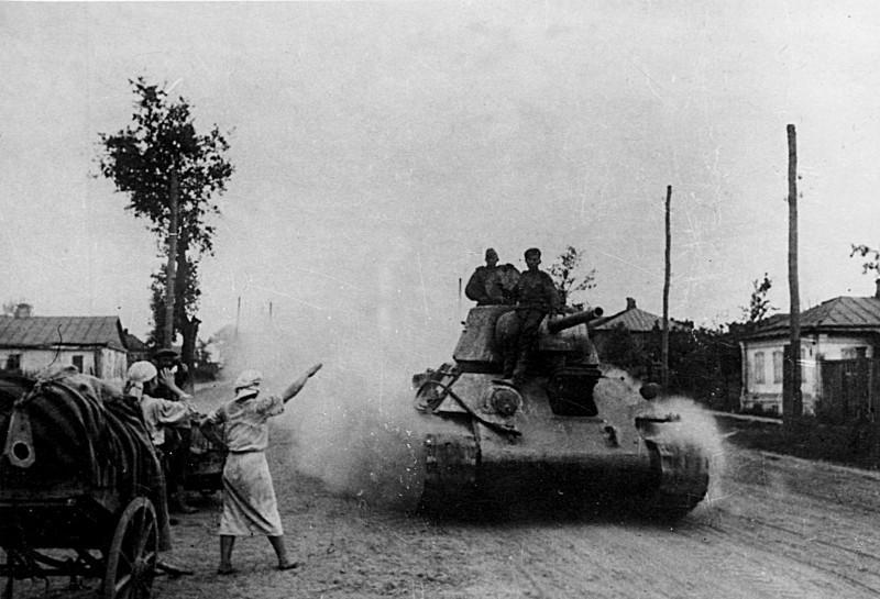 Танк Т-34 в Белгороде