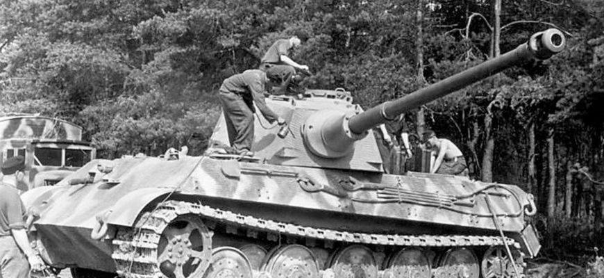 Бронетехника гитлеровской Германии