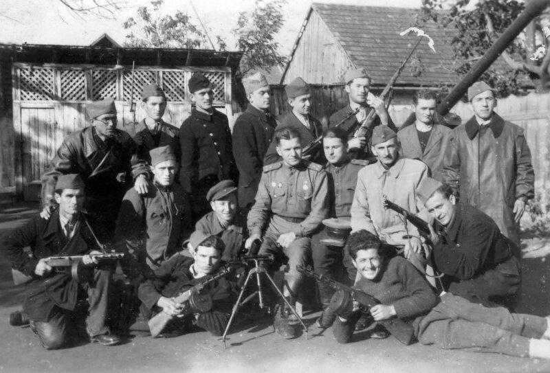 Партизаны Югославии и солдаты Красной Армии