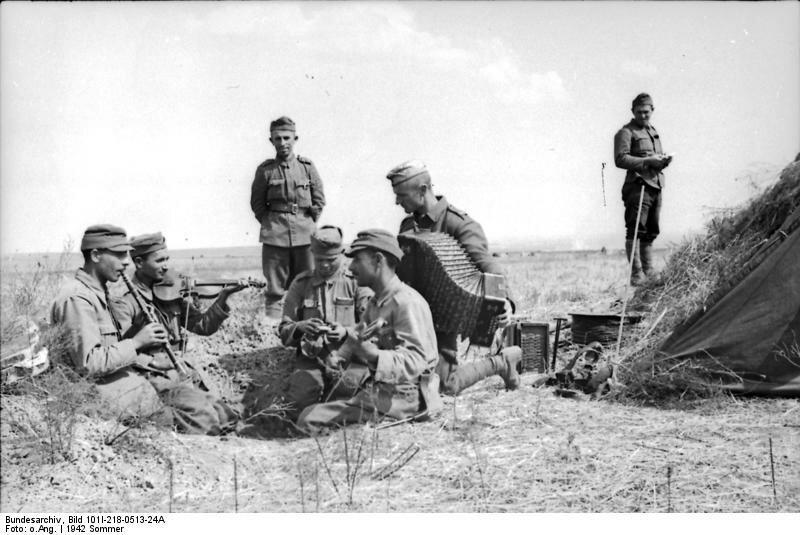 Солдаты из Румынии на Дону