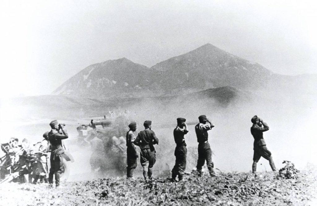 Гитлеровцы на сражениях на Кавказе