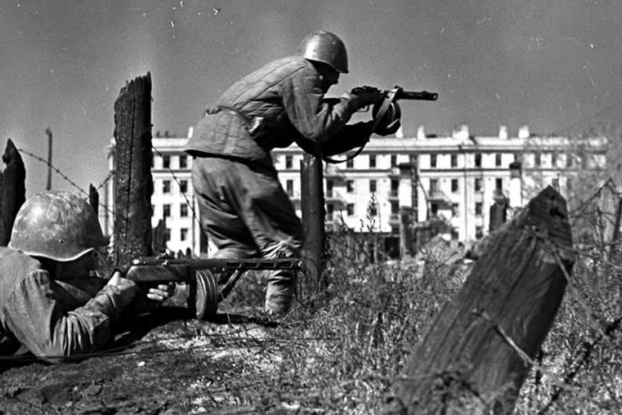 Автоматчики СССР в Сталинграде