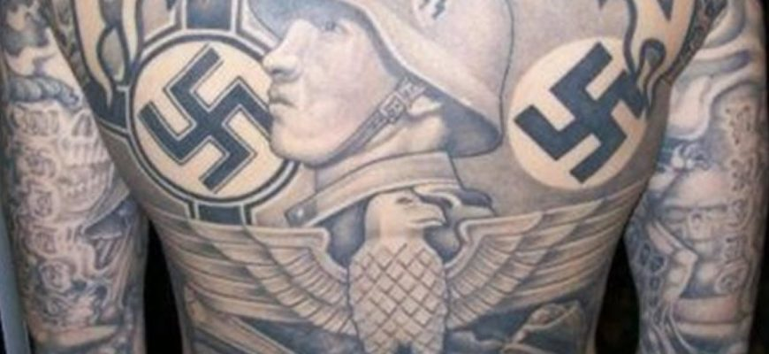 Татуировки немецких солдат