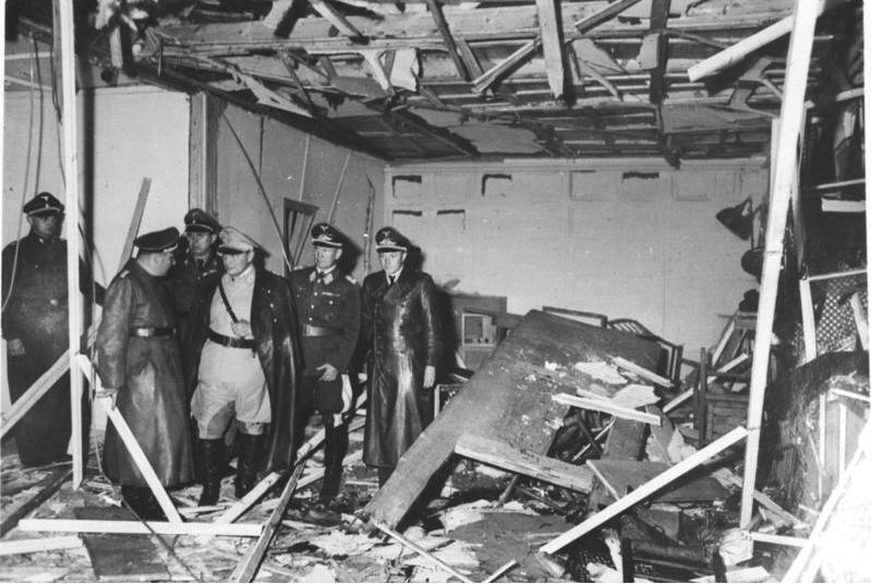 Фото кабинета после взрыва