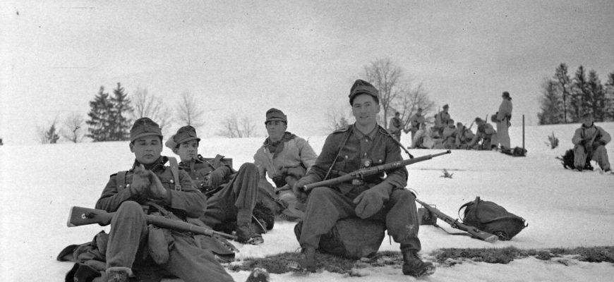Воспоминания егеря Вермахта о войне