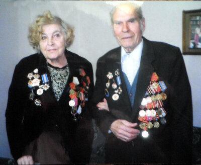 Портрет Михаила Фомича и его супруги