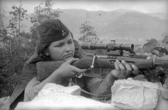 Воспоминания советского снайпера