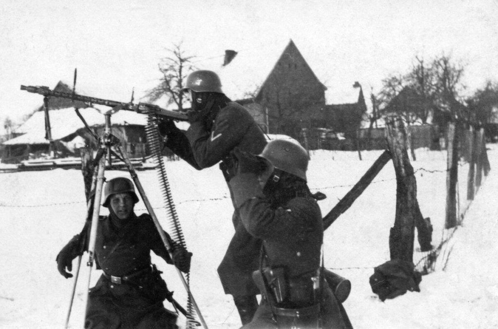 Солдаты Вермахта зимой